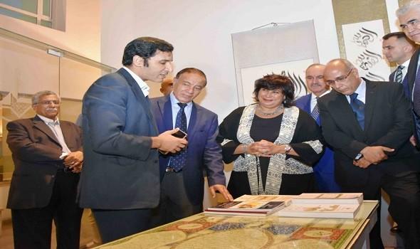 وزيرة الثقافة المصرية تفتتح الدورة الـ42 من معرض الفنون التشكيلية في قصر الفنون