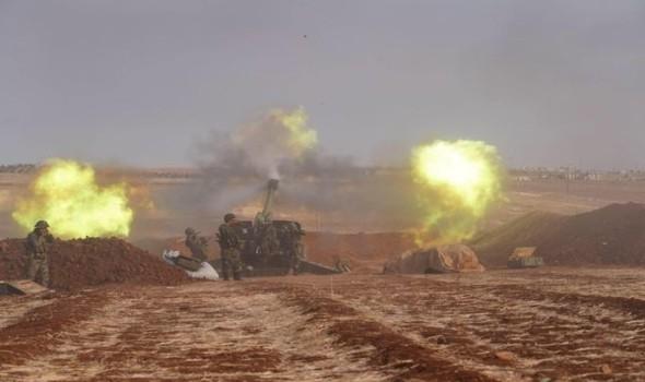 الجيش السوري يقصف درعا وريفها بعد انهيار التهدئة وروسيا تستهدف فصيلا مواليا لتركيا
