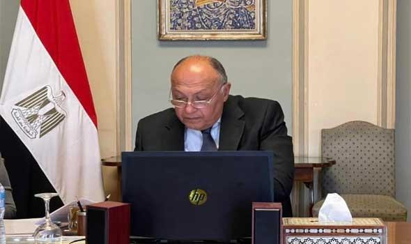 شكري يؤكد أن مصر تدرس حالياً مقترحات الكونغو بشأن سد النهضة