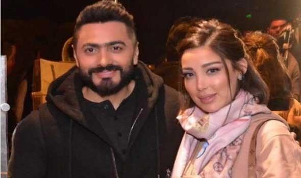 المغرب اليوم - خبر انفصال بسمة بوسيل و تامر حسني يتصدر مواقع التواصل الاجتماعي
