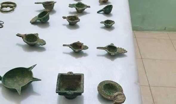 علماء الآثار يعثرون على هرم معدني عمره 1400 عام