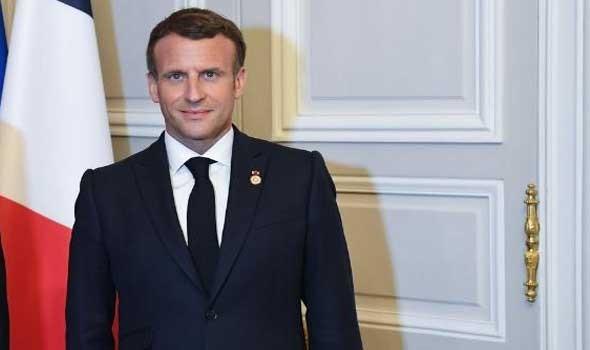 ماكرون يتمنى هدوء التوتر مع الجزائر بعد سحب سفيرها ويوجّه الدعوة  الى الحوار