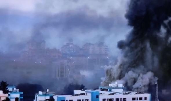 المغرب اليوم - غارات إسرائيلية على مواقع للمقاومة الفلسطينية في غزة وتعزيزات عسكرية بمحيط القطاع