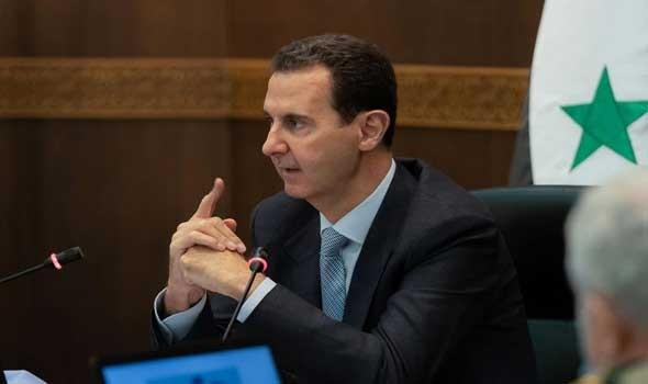 المغرب اليوم - أعضاء الحكومة السورية الجديدة يؤدون اليمين الدستورية أمام الرئيس بشار الأسد