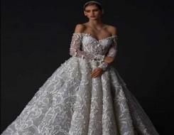 المغرب اليوم - موديلات فساتين زفاف مع فيونكات 2022