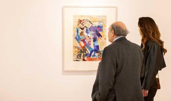 معرض تشكيلي للفنانتين آمال الفلاح ونادية غسال يحتفي بالمرأة في كل تجلياتها في الدار البيضاء