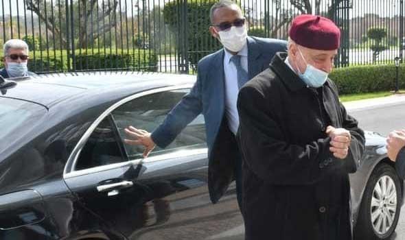 عقيلة صالح يؤكد من الرباط أن لا حل للأزمة في ليبيا من دون إجراء الانتخابات