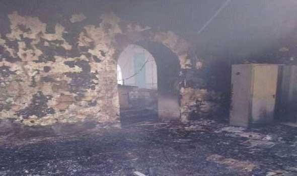 اندلاع حريق في مسكن الفنانة ميرفت أمين