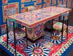 المغرب اليوم - ألوان مبهجة تتضمنها أول مجموعة مفروشات من
