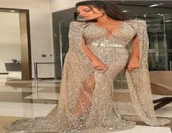 المغرب اليوم - نادين نسيب نجيم بإطلالة ملكية في حفل
