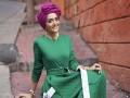 المغرب اليوم - ملابس محجبات باللون الأخضر محتشمة ومواكبة للموضة